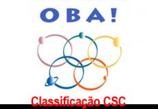 OBA Classificação