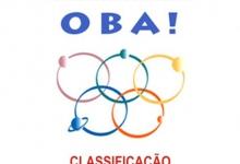 Classifica��o OBA 2015